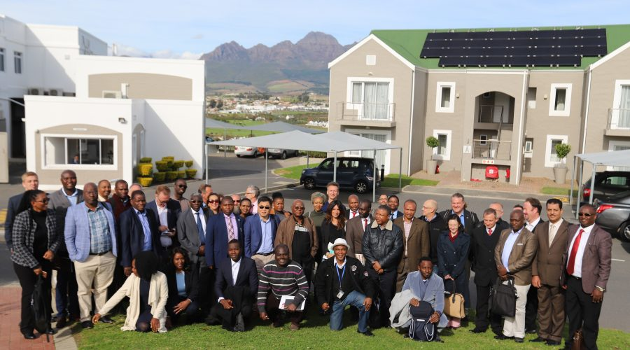 PRE-LEAP-RE partners and stakeholders at the 2nd Strategic Workshop in Stellenbosch